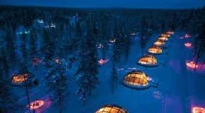 Iglus - Hotel Kakslauttanen Finlândia
