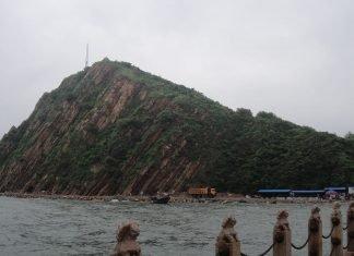 ilha em Liaoning